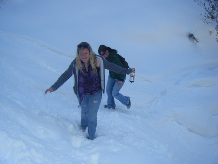Me and Heather in the Snow