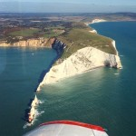 The Needles isleofwight lighthouse weflewthere pa28